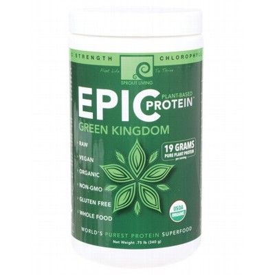 SPROUT LIVING Epic Protein Green Kingdom 340g