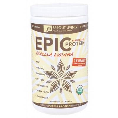 SPROUT LIVING Epic Protein Vanilla Lacuma 340g