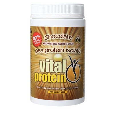 VITAL PROTEIN Choc Pea Protein Isolate 500g